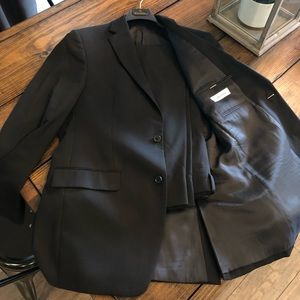 Calvin Klein Black Suit